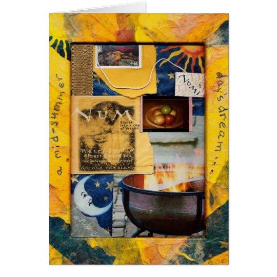 """Tam Kozman's """"A Mid-Summer Day's Dream"""" Card"""