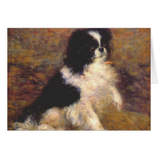 Tama the Japanese Dog by Renoir Card