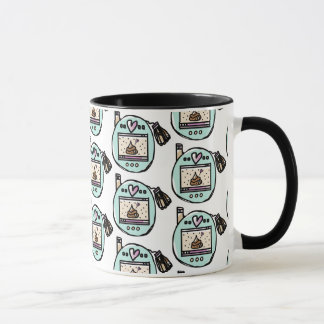 TAMACORGIE. I'M YOUR POOP FAIRY.  TILED MUG. MUG