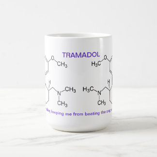 Tamadol is saving your life coffee mug