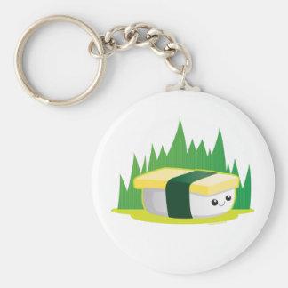 Tamago Basic Round Button Key Ring