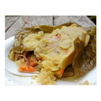 Tamale Food Postcard