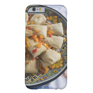 Tamales on decorative plate barely there iPhone 6 case