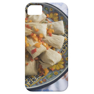 Tamales on decorative plate iPhone 5 covers