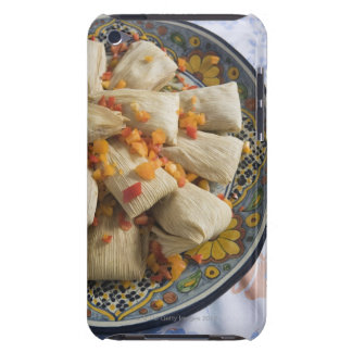 Tamales on decorative plate iPod touch cover