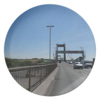 Tamar Bridge - Cornish Border Plate