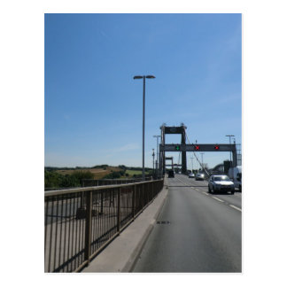 Tamar Bridge - Cornish Border Postcard