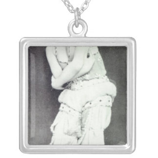 Tamara Karsavina in the role of Zobeide Silver Plated Necklace