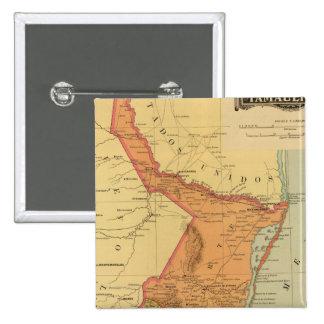 Tamaulipas 15 Cm Square Badge