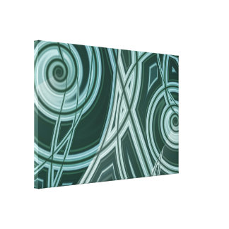 Tambours Stretched Canvas Print