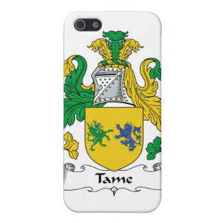 Tame Family Crest Covers For iPhone 5