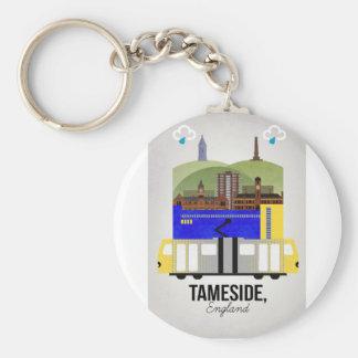 Tameside Key Ring