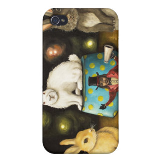 Taming Of The Giant Bunnies iPhone 4 Cover