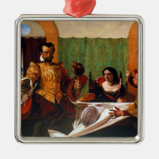 Taming of the Shrew Christmas Ornament