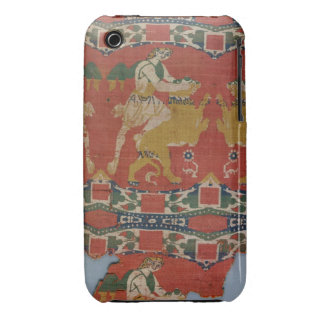 Taming of the Wild Animal, Byzantine tapestry frag iPhone 3 Case-Mate Cases