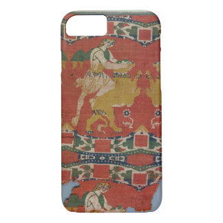 Taming of the Wild Animal, Byzantine tapestry frag iPhone 7 Case