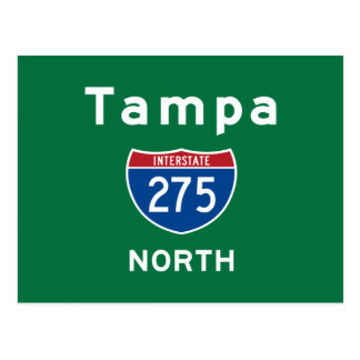 Tampa 275 postcard