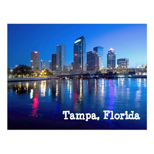 Tampa Bay at dawn Postcard