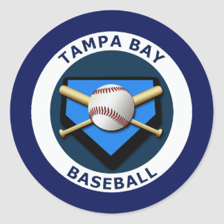 TAMPA BAY BASEBALL CLASSIC ROUND STICKER
