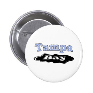 Tampa Bay Oil Spill 6 Cm Round Badge