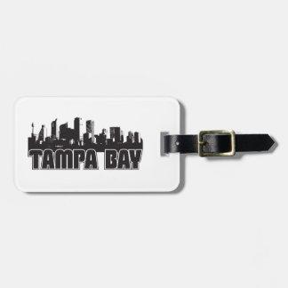 Tampa Bay Skyline Luggage Tag