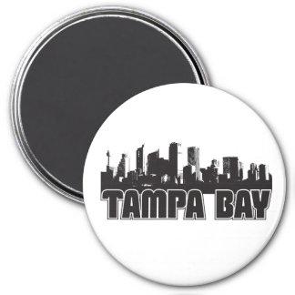 Tampa Bay Skyline Magnet