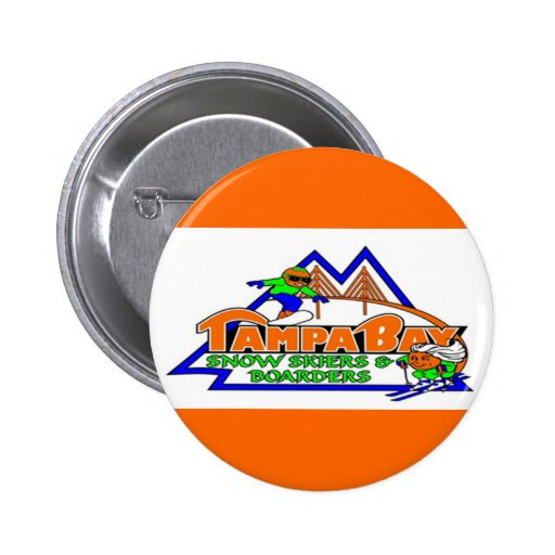 Tampa Bay Snow Skiers and Boarders Button