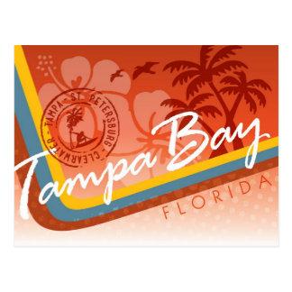Tampa Bay Tropical Postcard