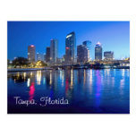 Tampa, Florida at dawn Postcard