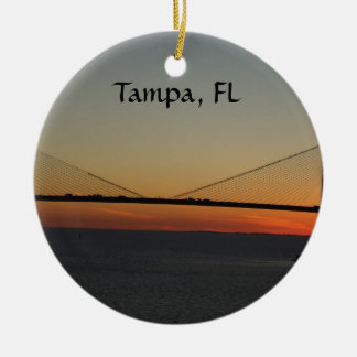 Tampa Florida Ornament