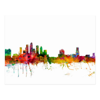 Tampa Florida Skyline Postcard
