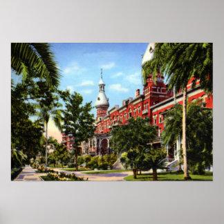 Tampa Florida University of Tampa Posters