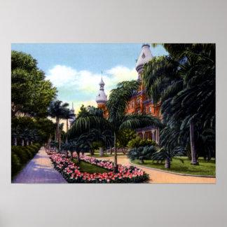 Tampa Florida University of Tampa Print