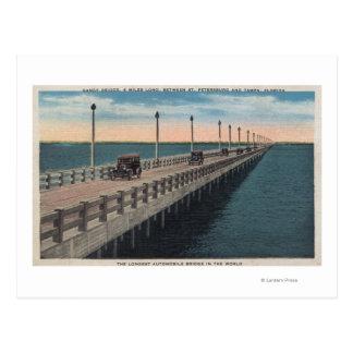 Tampa, FloridaView of Gandy BridgeTampa, FL Postcard