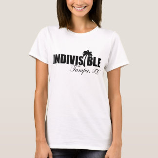 TAMPA Indivisible Womens Tshirt - Blk logo