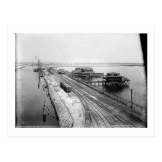 Tampa Inn and Docks, Tampa, Florida Vintage Postcard