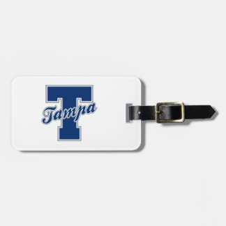 Tampa Letter Luggage Tag