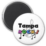 Tampa Rocks 6 Cm Round Magnet