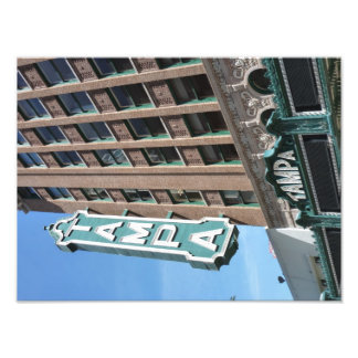 Tampa Theatre Theater Downtown Sign Photo Print 2