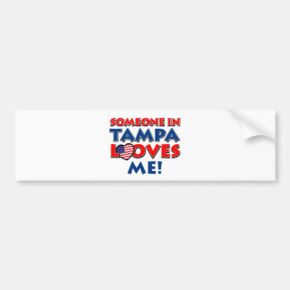 TAMPA USA designs Bumper Sticker