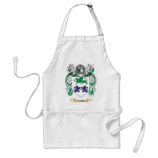 Tams Family Crest (Coat of Arms) Standard Apron