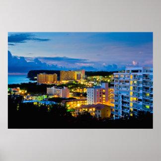 Tamuning Guam Print