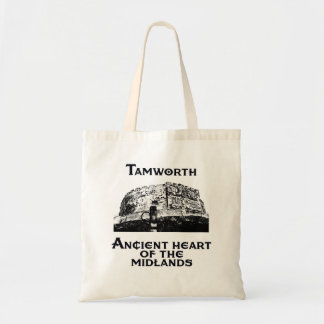 Tamworth-Ancient Heart of the Midlands Tote Bag