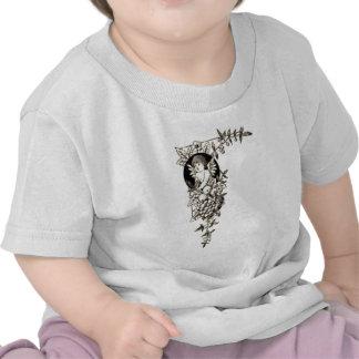 tan angel baby shirts