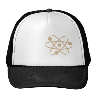 Tan Brown Atom Cap