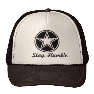 Tan & Brown Stay Humble Hat