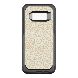 Tan Cheetah Animal Cat OtterBox Commuter Samsung Galaxy S8 Case