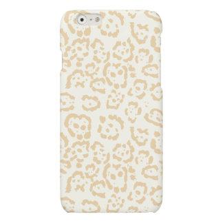 Tan Cheetah Animal Cat Print iPhone 6 Plus Case