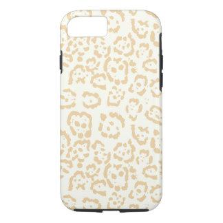 Tan Cheetah Animal Cat Print iPhone 8/7 Case