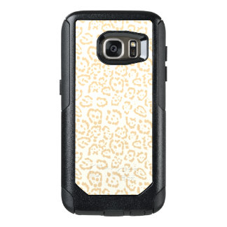 Tan Cheetah Animal Cat Print OtterBox Samsung Galaxy S7 Case